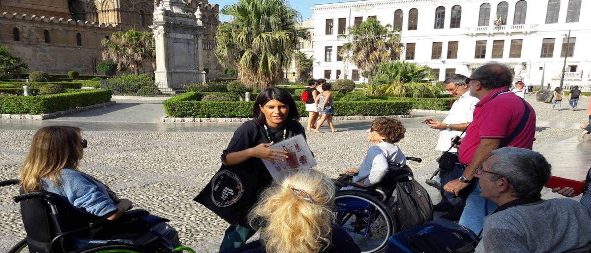 Viaggio in Sicilia di turismo Accessibile